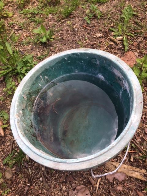 Seau d'eau 10 litres